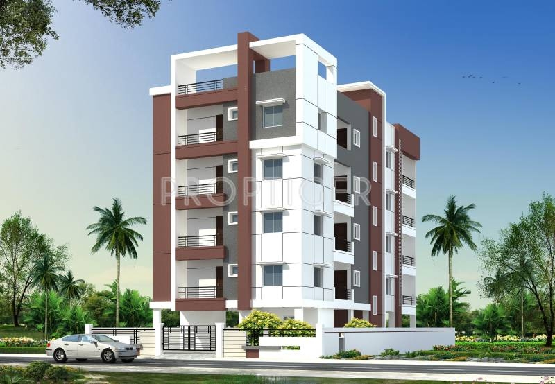 First Floor Elevation In Hyderabad : Main elevation image of technopolis construction company