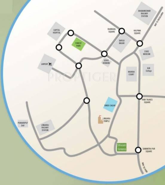 Images for Location Plan of Kapis Shivam Greens