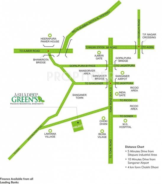 Images for Location Plan of Ashadeep Group Greens