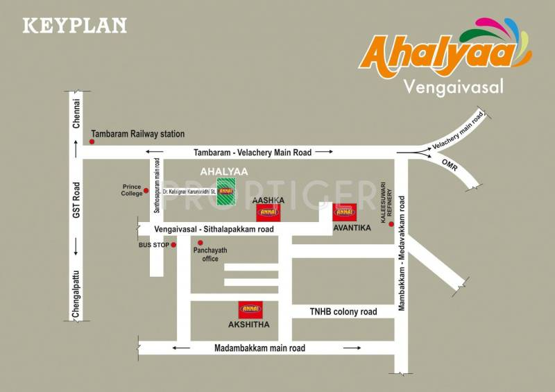 Images for Location Plan of Annai Ahalyaa