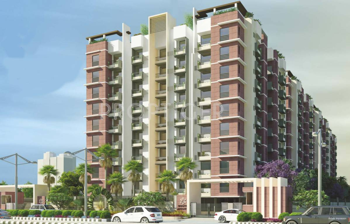 Front Elevation In Jaipur : Sun south court in jagatpura jaipur price location map