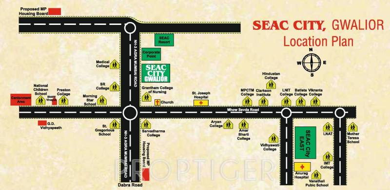 Images for Location Plan of Seac Seac City
