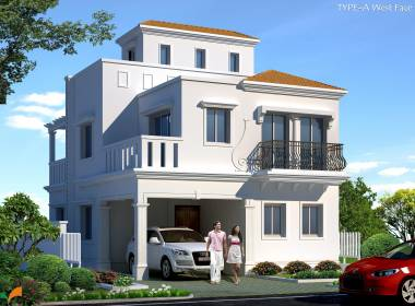 Images for Elevation of Ramky Gardenia Grove Villas