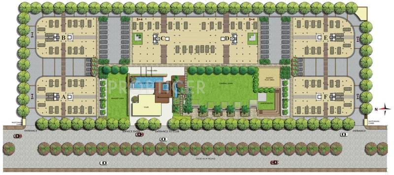 Images for Layout Plan of Parsvnath Pratishtha