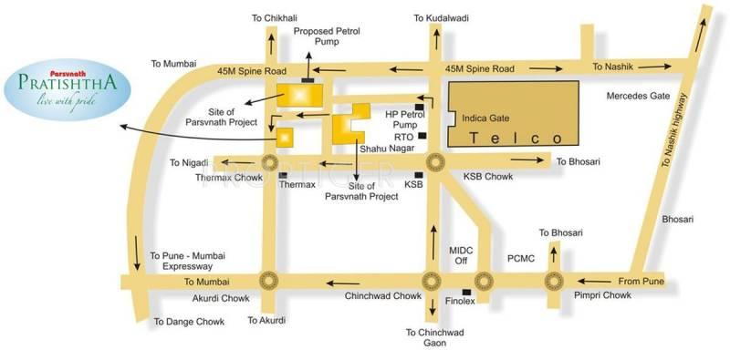 Images for Location Plan of Parsvnath Pratishtha