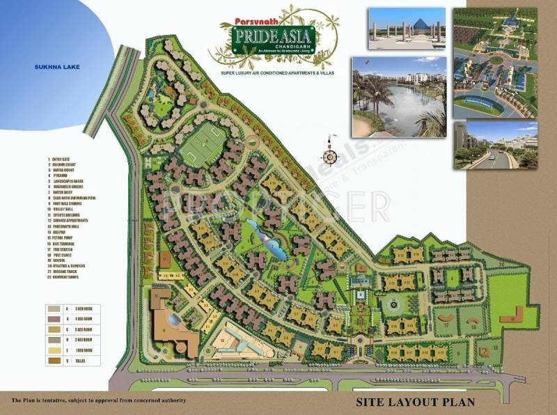 Images for Layout Plan of Parsvnath Prideasia