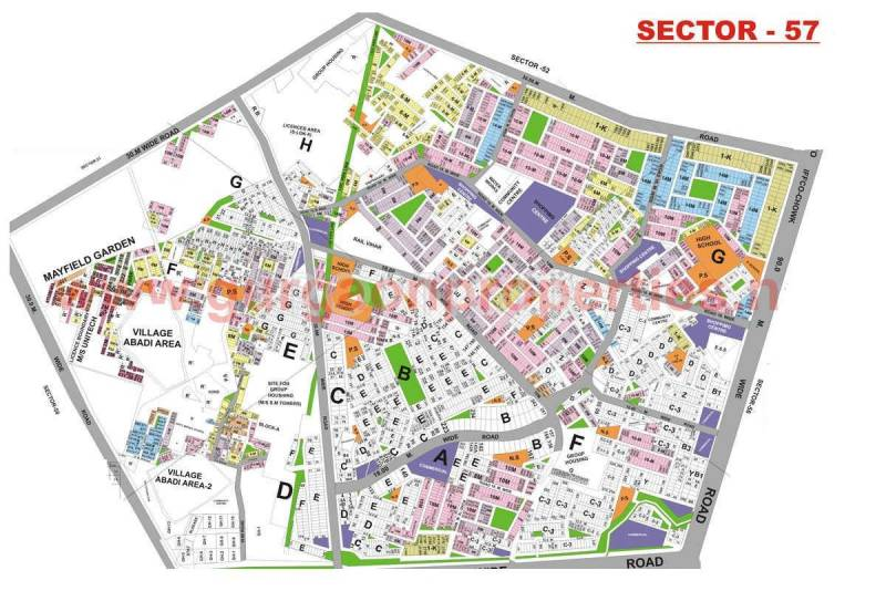 Images for Master Plan of HUDA Plot Sector 57