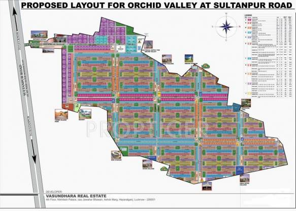 orchid-valley Images for Layout Plan of Vasundhara Orchid Valley