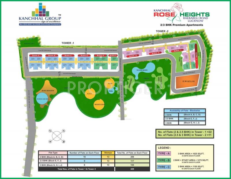 Images for Layout Plan of Kanchhal Rose Heights