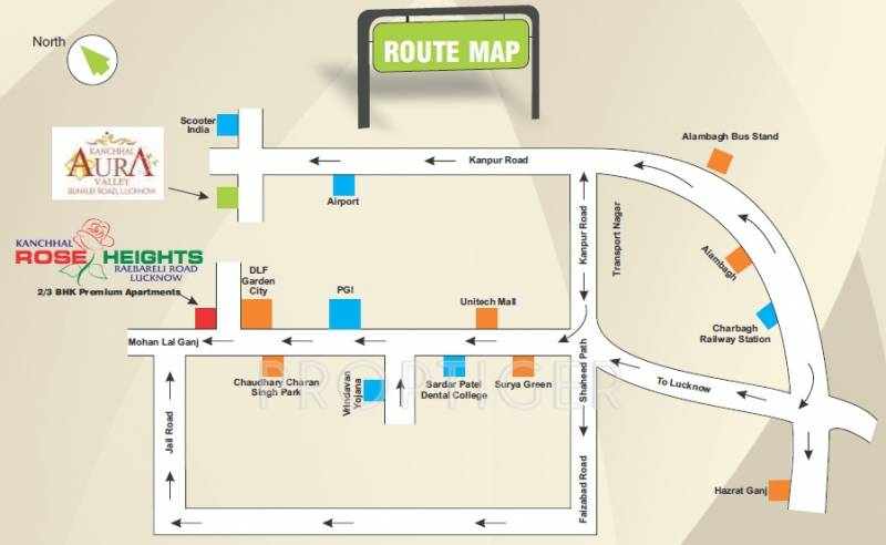 Images for Location Plan of Kanchhal Rose Heights