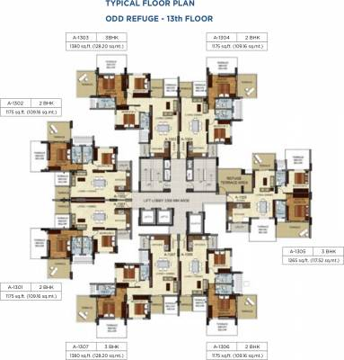 1520 sq ft 3 bhk 3t apartment for sale in mantri group for 13th floor augusta tower