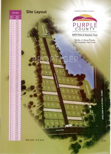 Images for Layout Plan of Excellence Purple County