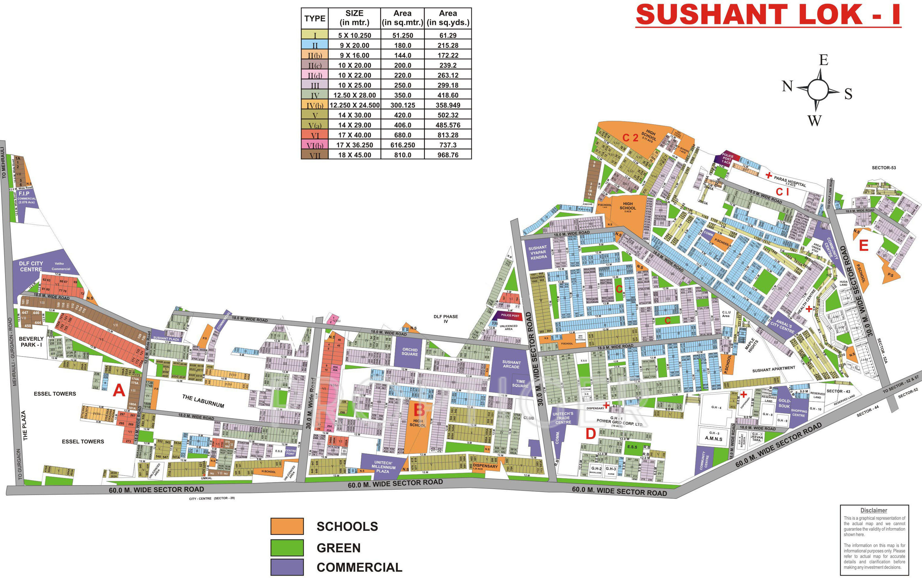 Ansal Sushant Lok I In Sector 43 Gurgaon Price