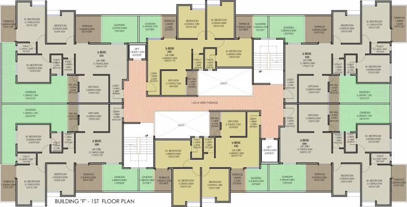Images for Cluster Plan of Majestique 38 Park Majestique