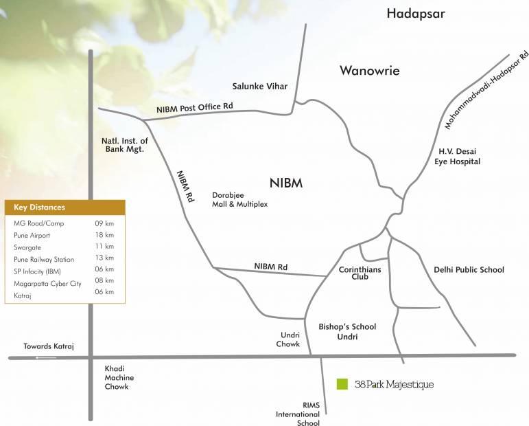Images for Location Plan of Majestique 38 Park Majestique