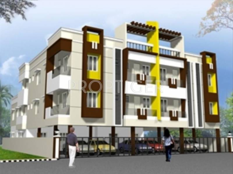 Images for Elevation of Jaya Swathy Constructions Prasanna Lakshmi