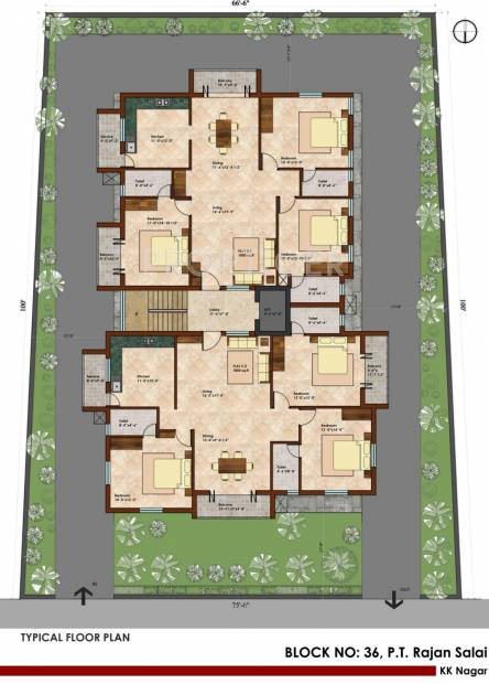 Images for Cluster Plan of KCee Anandam