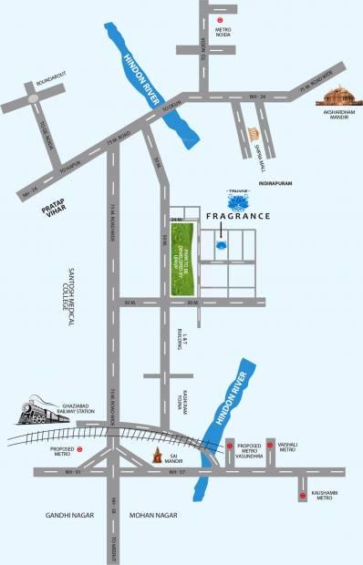 Images for Location Plan of Royal Estate Fragrance Homes