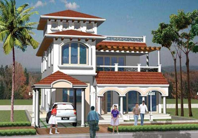 Images for Elevation of Red Akshaya The Fortune Gardens