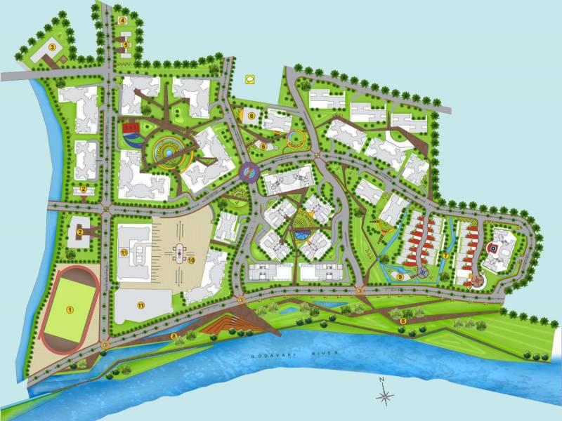 Images for Layout Plan of Suyojit Viridian Vallis