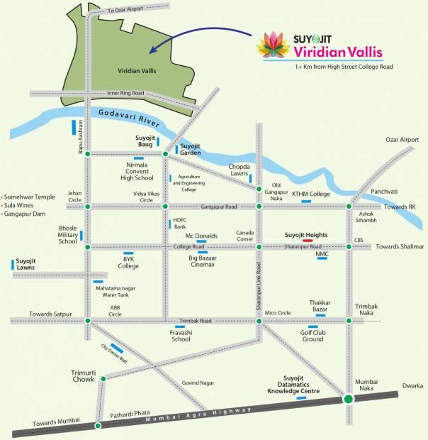 Images for Location Plan of Suyojit Viridian Vallis