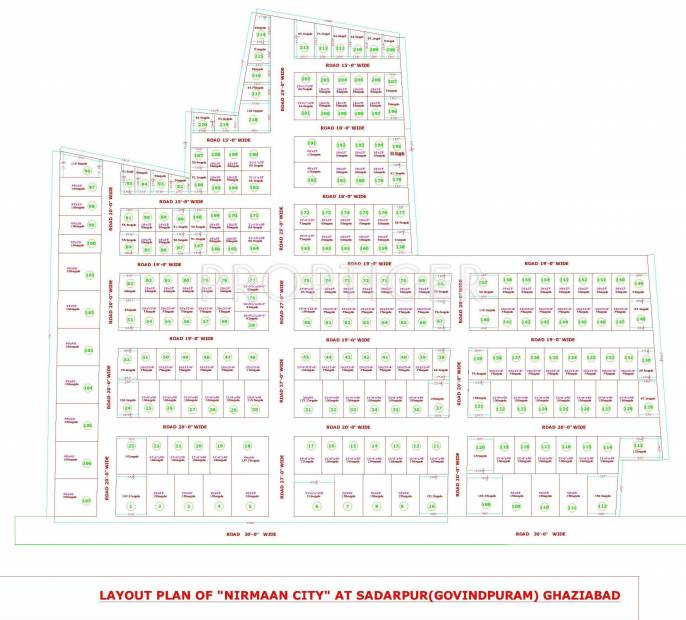 Images for Layout Plan of Renowned Group Nirman City