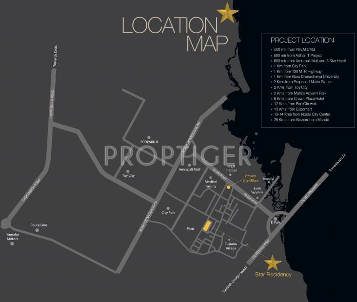 Images for Location Plan of Omson Star Residency