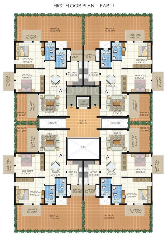 2 bhk 2t apartment for sale in commonwealth developers pvt for Apartment design development pvt ltd