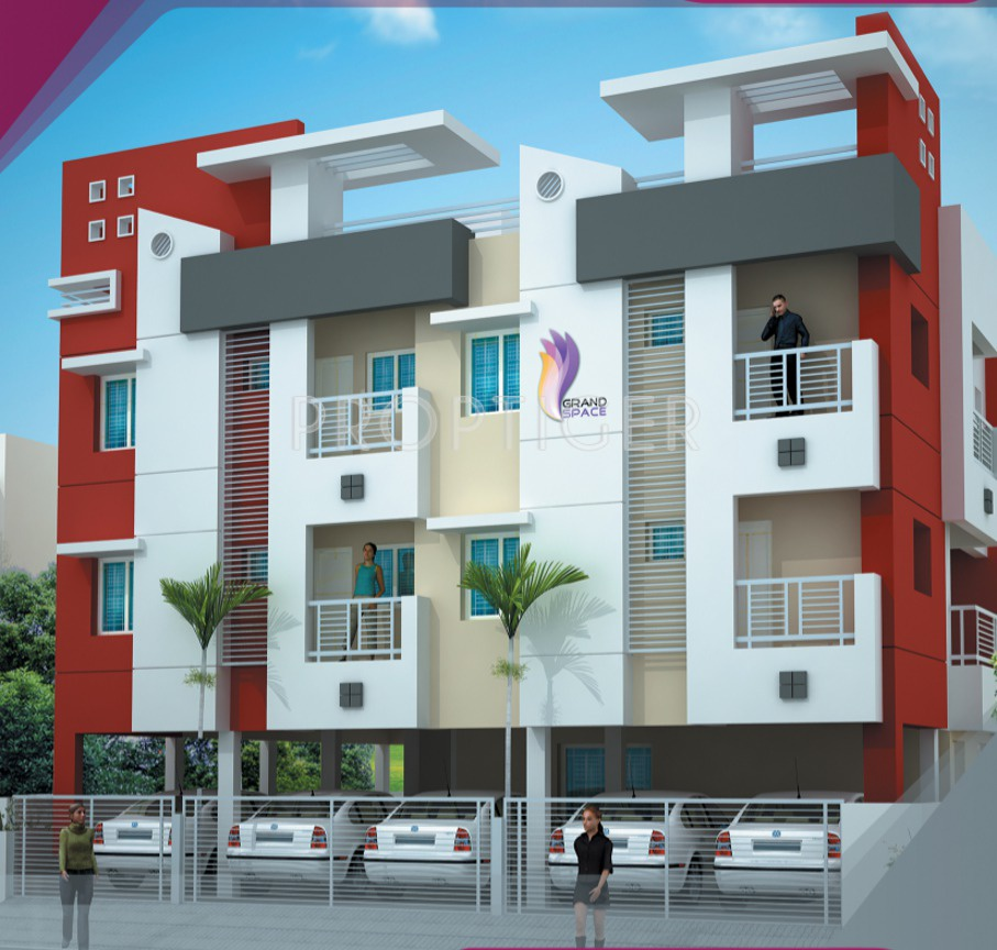 Artnlight Madras Terrace House Chennai: Image Of Location Map Of Grand Space Developers Pvt Ltd