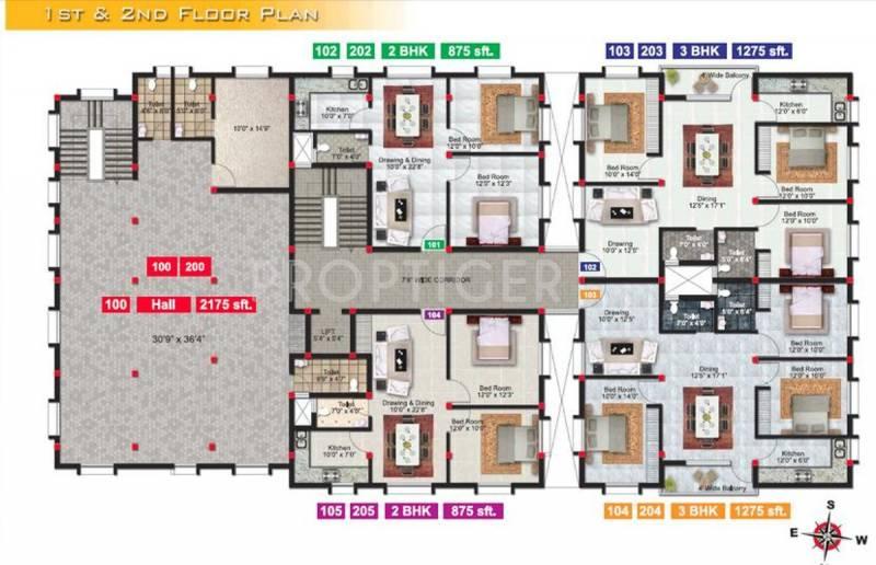 Images for Cluster Plan of Neelachal Brundaban Arcade