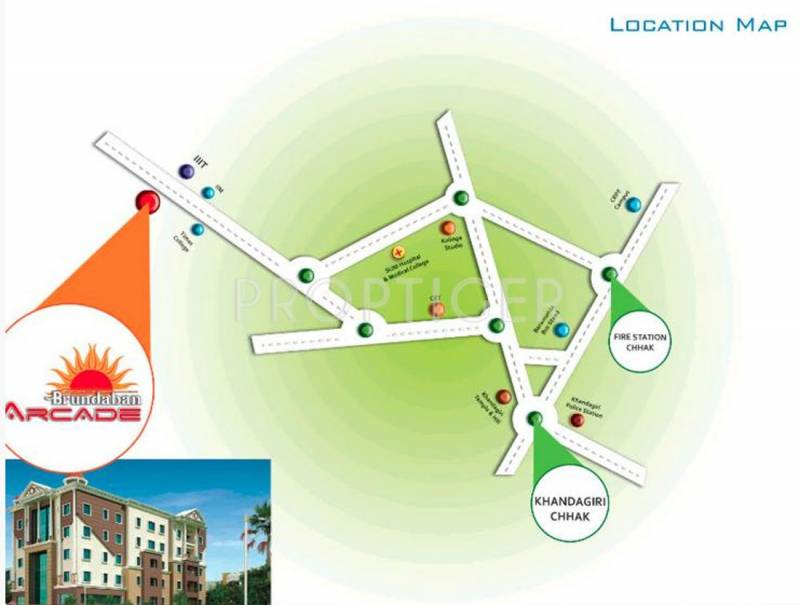 Images for Location Plan of Neelachal Brundaban Arcade