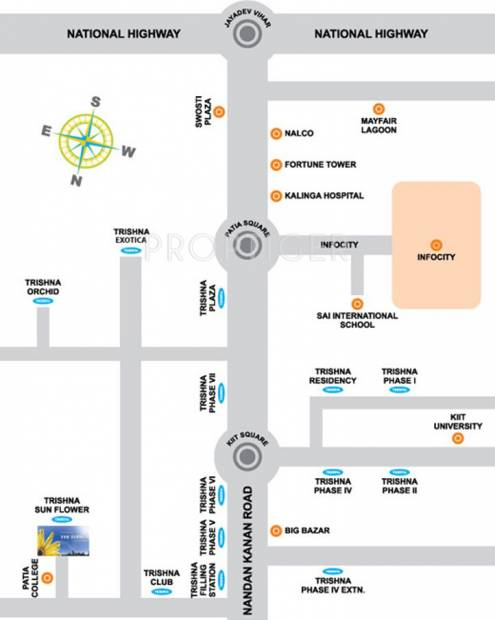 Images for Location Plan of Trishna Sun Flower