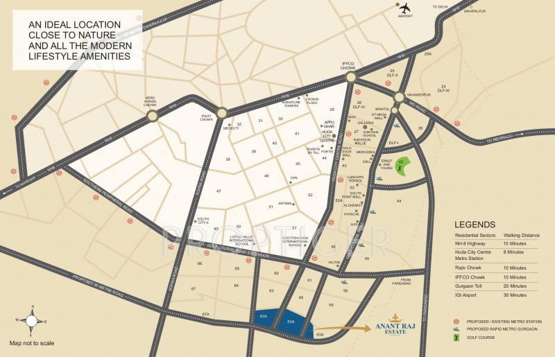 Images for Location Plan of Anant Manor Villas