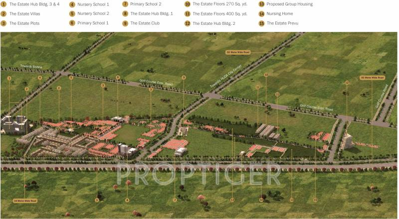 Images for Master Plan of Anant Manor Villas