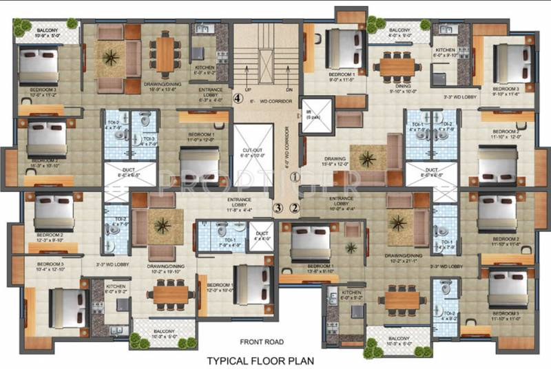 Images for Cluster Plan of Madhusudan Narayan Complex