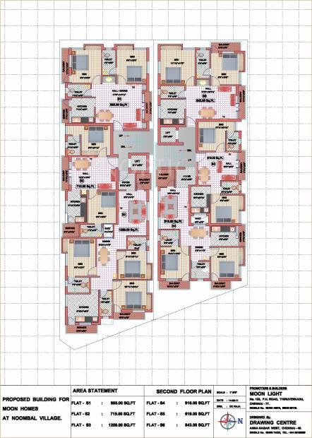 moon-homes Moon Homes  Cluster Plan