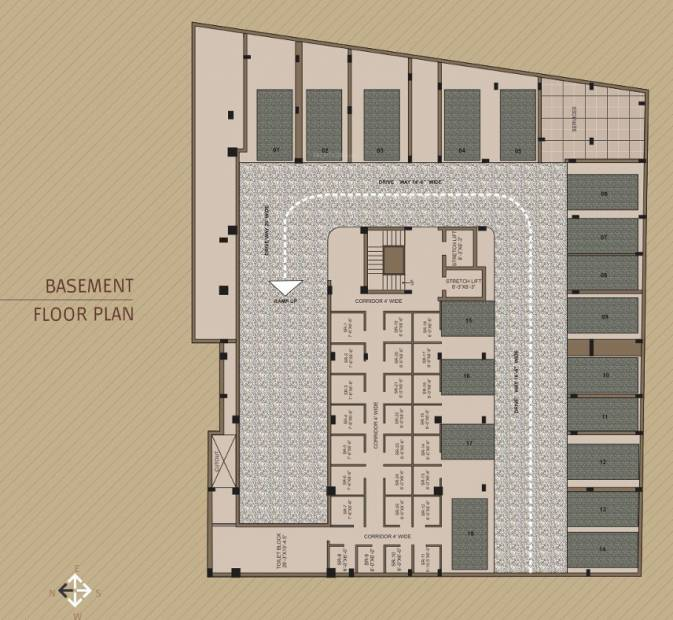 Images for Cluster Plan of Upasna Mayfair