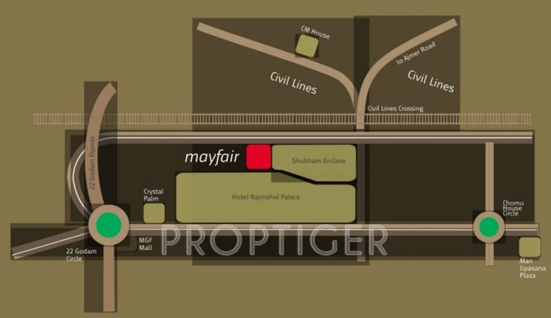 Images for Location Plan of Upasna Mayfair