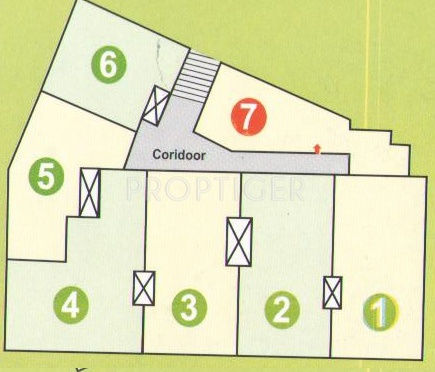 Images for Site Plan of  Super Plaza
