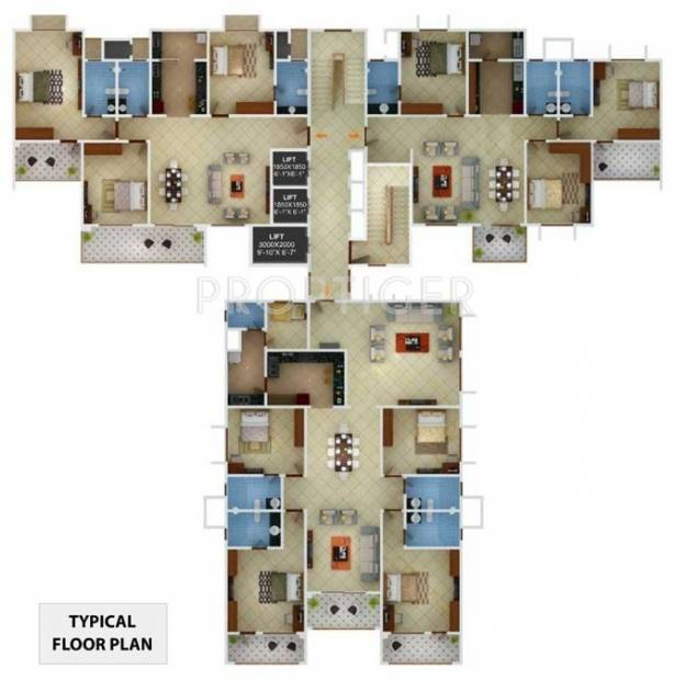 Images for Cluster Plan of Sobha Jade