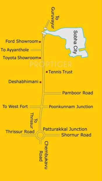 Images for Location Plan of Sobha Sapphire