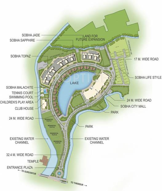 Images for Master Plan of Sobha Sapphire