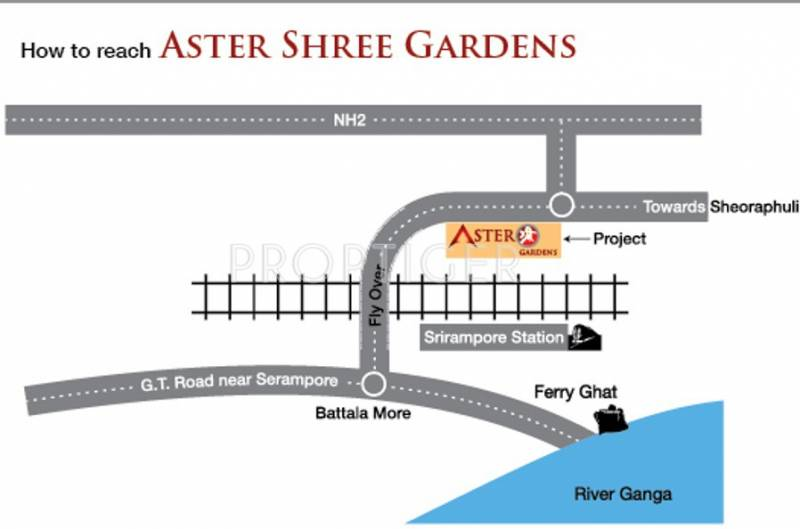shree-gardens Images for Location Plan of Aster Shree Gardens