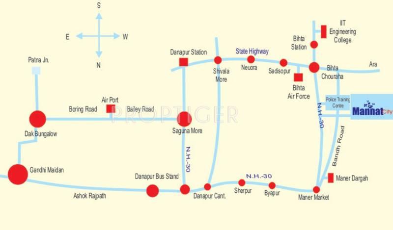 Images for Location Plan of Super Mannat City