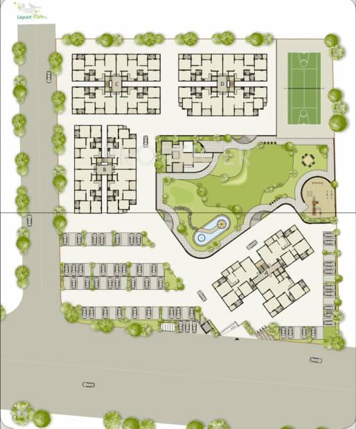 Images for Layout Plan of Sangani Silver Nesst