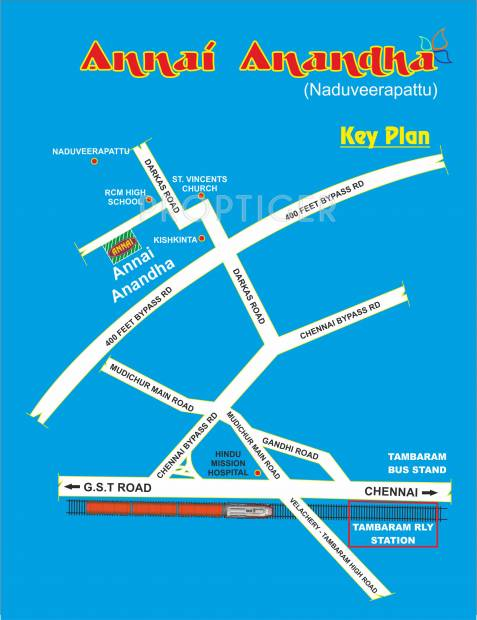 Images for Location Plan of Annai Anandha