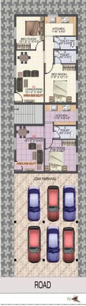 Images for Cluster Plan of Sri Sai Vijayalakshmi