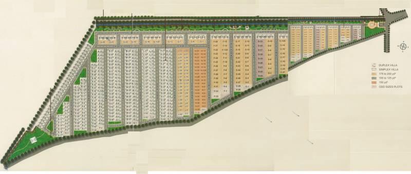 radha-florence Layout Plan