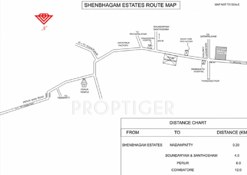 Images for Location Plan of Covai Shenbagam Estates