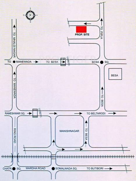 Images for Location Plan of Vinit Ashoka Heights 1